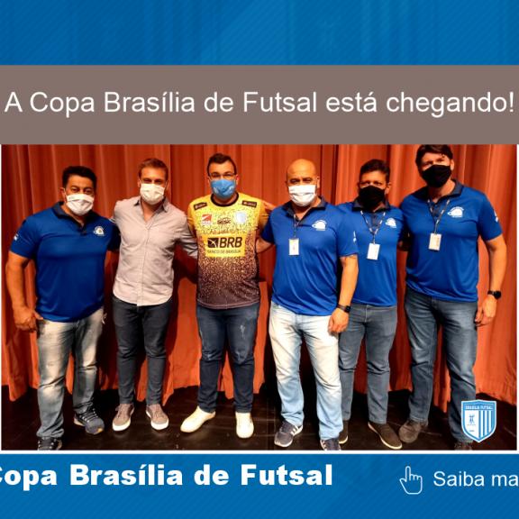 A Copa Brasília de Futsal está chegando! ????????